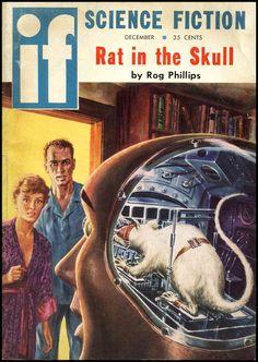 if Science Fiction: Rat In The Skull, December 1958. Illustration: Ed Emshwiller