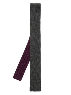Brioni Silk and cashmere-blend knitted tie