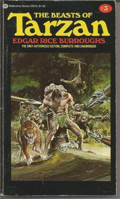 Tarzan #3 - The Beasts of Tarzan by Edgar Rice Burroughs
