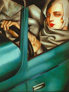 Tamara de Lempicka - Self Portrait.