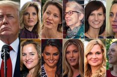 Buzz-Zinga: 16 women accusing Donald Trump of sexual harassmen...