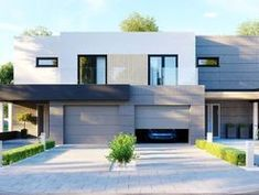 DOM.PL™ - Projekt domu CPT HomeKONCEPT-52 B2 CE - DOM CP1-63 - gotowy koszt budowy Home Fashion, Mansions, House Styles, Home Decor, Decoration Home, Manor Houses, Room Decor, Villas, Mansion