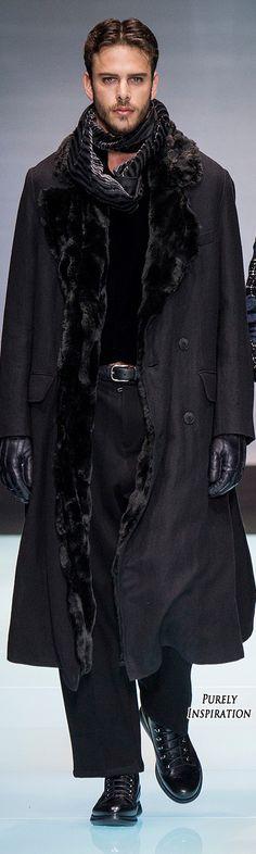Giorgio Armani FW2016 Menswear | Purely Inspiration