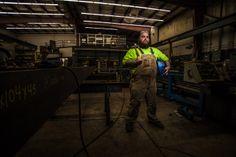 Madden Welder Environmental Portraits, Corporate Communication, Business Portrait, Portrait Photography