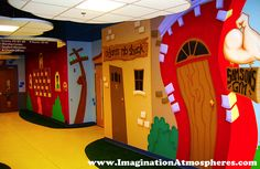 Fun, Cartoon Bible Murals. www.ImaginationAtmospheres.com