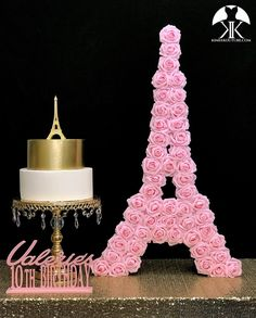 may birthday party Flower Ball Centerpiece, Crown Centerpiece, Red Centerpieces, Mickey Centerpiece, Birthday Centerpieces, Eiffel Tower Cake, Eiffel Tower Centerpiece, Aqua Wedding, Paris Wedding