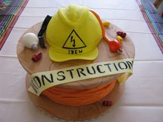 electrician grooms cake | kathycake here on cc for the idea. my son just passed his electrician ...