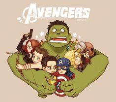 The Avengers! comic-book-art