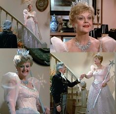 Glinda the good witch costume-I could use my sister's wedding dress! LOL!~