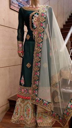 Searching for punjabi suits boutique including products like designs for punjabi salwar kameez suits See the website simply press the grey link for further info :- Pakistani Outfits, Indian Outfits, Eid Outfits, Indian Attire, Indian Wear, Red Lehenga, Lehenga Choli, Sharara, Bridal Lehenga