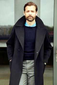 voxsart: Keep Quality In Your Casual. Patrick Grant. Top grooming game in #menswear.