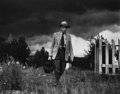 Dr. Ceriani on the way to visit his patients in their remote villages. Kremmling, Colorado, USA. 1948. © W. Eugene Smith / Magnum Photos
