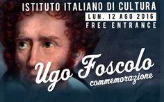 Commemorando Ugo Foscolo a Londra Duecento anni fa il poeta italiano Ugo Foscolo sbarcava a Londra. L'Istituto di Cultura Italiano in città ha dunque deciso di organizzare un incontro per commemorare l'opera del poeta e il suo impatt #ugofoscolo #londra