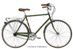NIrve Wilshire. Cro-mo frame, swept handlebars and 3 internal gears...all for £360? Sign me up...