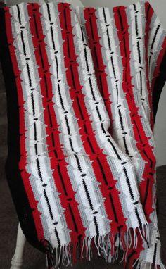 Unique Items Similar to Crocheted Navajo Pattern Afghan Black Navajo Crochet Pattern Of Perfect 48 Pics Navajo Crochet Pattern Crochet Shrug Pattern, Vintage Crochet Patterns, Crochet Quilt, Crochet Shawl, Free Crochet, Afghan Crochet Patterns, Crochet Afghans, Crocheted Blankets, Crocheting Patterns