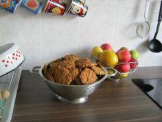 biscuiti de casa cu ovaz Muffin, Breakfast, Desserts, Food, Morning Coffee, Tailgate Desserts, Deserts, Essen, Muffins