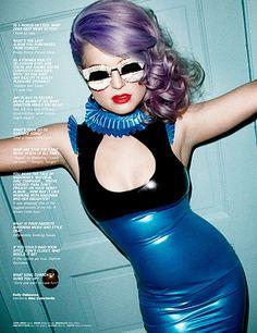 Hair-Kelly Osbourne Channels Inner Vixen For 'Lovecat' in Syren Latex Ruffled Boobie Dress Kelly Osbourne, Sharon Osbourne, Fetish Fashion, Latex Fashion, Fashion Fashion, Womens Fashion, Audrey Kitching, Lavender Hair, Vogue