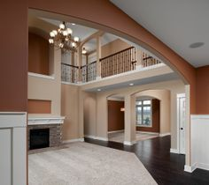 Wow!!  family room by Eastbrook Homes