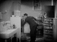 The Divorcee 1930 - Kitchen