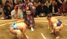 Compétition de Sumo à Tokyo.