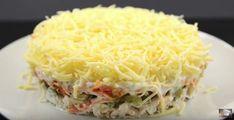Куриный салат с чесночным соусом. Меню на Новый ГОД Cabbage, Food And Drink, Vegetables, Cooking Recipes, Kochen, Vegetable Recipes, Cabbages, Collard Greens, Sprouts