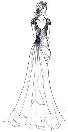 Sketch design, dress sketches, fashion design sketches, drawing sketches, p Gown Drawing, Dress Design Drawing, Dress Design Sketches, Fashion Design Sketchbook, Fashion Design Drawings, Fashion Sketches, Drawing Sketches, Sketch Design, Drawing Tips