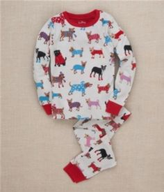 Pijama niña Hatley Winter Dogs