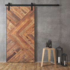 Artisan 40 in. Solid Core Reclaimed Wood Barn Door with Hardware Fully Assembled Door Reclaimed Barn Wood Solid Wood Frame Solid Wood Header Board is Included Suitable for Bathrooms, Bedrooms, Offices, Pantries and Closets Wood Barn Door, Diy Barn Door, Wooden Doors, Bathroom Barn Door, Master Bathroom, Sliding Barn Door Hardware, Sliding Doors, Door Latches, Front Doors