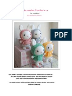 Amigurumi pattern Birthday Cake by Crochet Patterns Amigurumi, Amigurumi Doll, Amigurumi For Beginners, Monkey Pattern, Double Crochet, Crochet Bunny, Free Pattern, Projects To Try, Alice