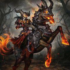 Undead Warlock by anotherwanderer.deviantart.com on @DeviantArt
