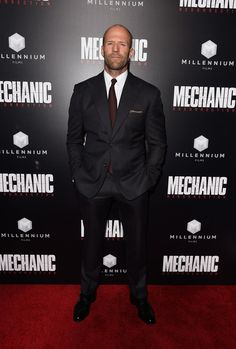 "Jason Statham Photos Photos - ActorJason Statham arrives at the Premiere of Summit Entertainment's ""Mechanic: Resurrection"" at ArcLight Hollywood on August 22, 2016 in Hollywood, California. - Premiere of Summit Entertainment's 'Mechanic: Resurrection' - Arrivals"
