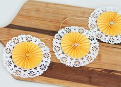 Clear & Simple Stamps Mothers Day Doilies | Damask Love Blog