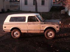 Patina K5 Blazer. Gm Trucks, Cool Trucks, Chevy Trucks, Chevy Blazer K5, K5 Blazer, Classic Bronco, Gen 1, Chevrolet Silverado, Old Cars