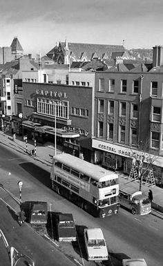 The Capitol Cinema in Grand Parade, Cork city, in 1973 Old Pictures, Old Photos, Berwick Street, Lecture Theatre, Old Irish, Cork City, Lone Ranger, Urban Legends, Blackpool