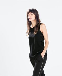 Top with Side Tiles from Zara R499,00