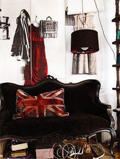 """Union Jack"" - space by Australian stylist/designer Sibella Court"
