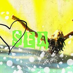 """FOTOMONTAJE Y COLLAGE DIGITAL retoque fotográfico, posters personalizados con tus propias fotos, Prints set: """"I Love Summer"""""""
