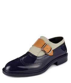 Monk Brogues Blue #MAN #AW1415