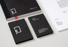 Little Black Book identity by BERG