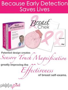 Plexus Slim! Early detection is key! Specials available all of October!!! AmberTee.MyPlexusProducts.Com