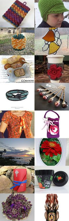 """""""Warm Deep Colors"""" by Jennifer Lacek on Etsy--Pinned with TreasuryPin.com"""