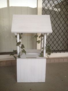 Looking for a wedding present or do not need any more presents that you already have. Order a wishing well from Orange timber creations Orange. Get your guests to give you money for a house deposit or a holiday.