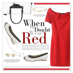 """""""WhenInDoubtWearRed"""" by water-polo ❤ liked on Polyvore featuring Balenciaga, polyvoreeditorial and bhalo"""