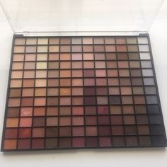 ELF eyeshadow Elf 144 eyeshadow palette. This has every neutral color you could ever want. I have swatched a few colors but most of them have not been touched. In excellent condition Eyes lips face Makeup Eyeshadow