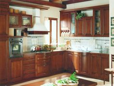 cherry wood kitchen | Solid Cherry Wood Kitchen Inspiration Cabinets Inspiration Picture ...