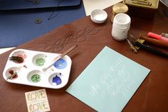 Oh So Beautiful Paper: Getting Started in Calligraphy