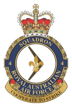 4 Squadron crest Royal Australian Air Force, Military Insignia, Police Patches, Military Service, Royal Air Force, Crests, Coast Guard, Veterans Day, Armed Forces