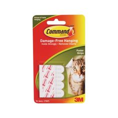 3M Poster Strip with Command Adhesive - 6 Pack - Ace Hardware & Home Centre, Maldives