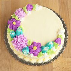 Cake Decorating Designs, Cake Designs, Decorating Ideas, Mini Tortillas, Sweet 16 Birthday Cake, Birthday Stuff, Spring Cake, Summer Cakes, Fancy Cakes