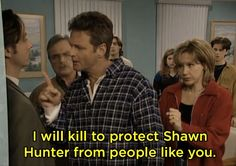 """When Shawn joined a cult, and Alan stood up to the leader. 